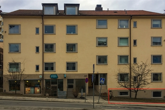 50 m2 kontor i Stockholm Gärdet/Djurgården uthyres