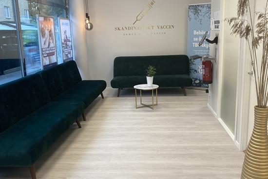 14 m2 klinik i Västerås uthyres